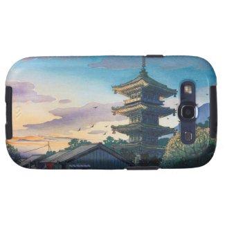 Kyoraku attractions Nomura Yasaka pagoda sunshine Galaxy S3 Case