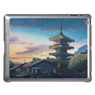 Kyoraku attractions Nomura Yasaka pagoda sunshine iPad Covers