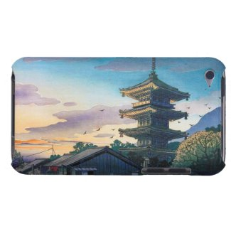 Kyoraku attractions Nomura Yasaka pagoda sunshine iPod Touch Cover