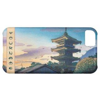 Kyoraku attractions Nomura Yasaka pagoda sunshine Case For iPhone 5C