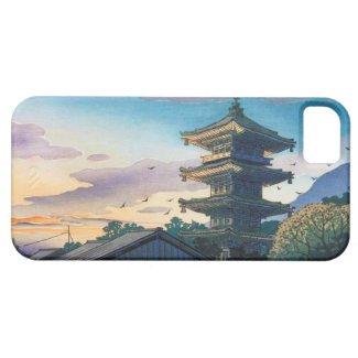 Kyoraku attractions Nomura Yasaka pagoda sunshine iPhone 5 Cover