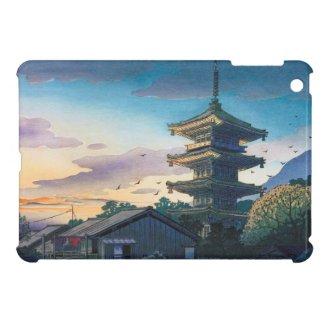 Kyoraku attractions Nomura Yasaka pagoda sunshine Case For The iPad Mini