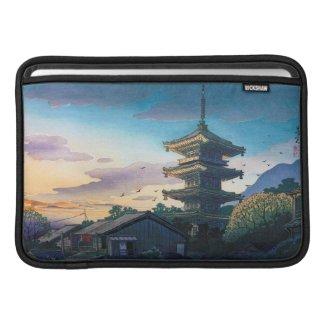 Kyoraku attractions Nomura Yasaka pagoda sunshine Sleeve For MacBook Air