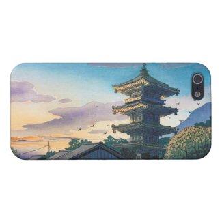 Kyoraku attractions Nomura Yasaka pagoda sunshine iPhone 5 Cases
