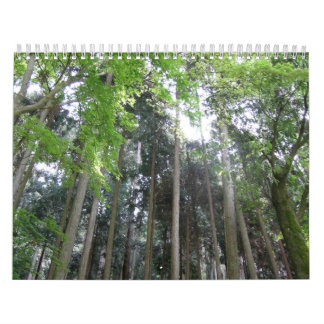 Kyoto 2011 calendar made by SURIAK & SUMITRA