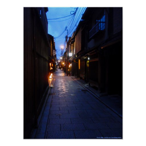 Kyoto Alley Poster