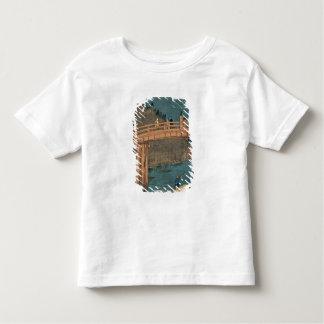 Kyoto bridge by moonlight toddler t-shirt