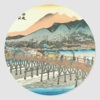 Kyoto Classic Round Sticker