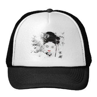 Kyoto Geisha Trucker Hat