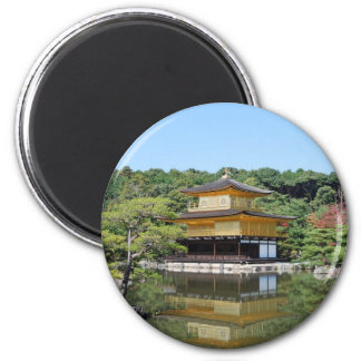 Kyoto golden Pavilion 2 Inch Round Magnet