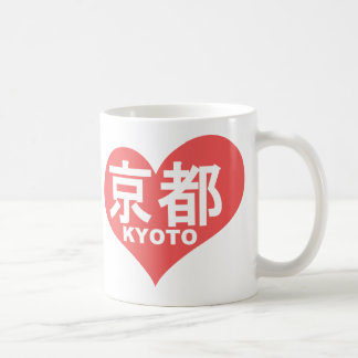 Kyoto Heart Coffee Mug