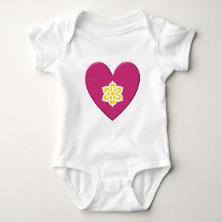 Kyoto Prefecture Flag Heart Shirt