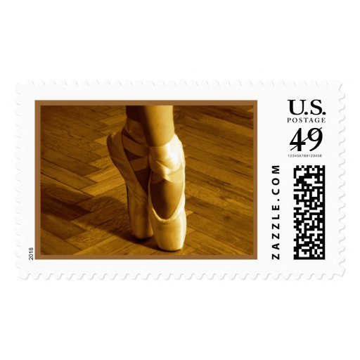 kyra ballet slippers stamp