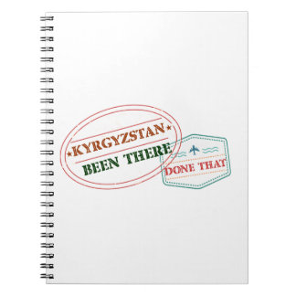 Kyrgyzstan Been There Done That Notebook