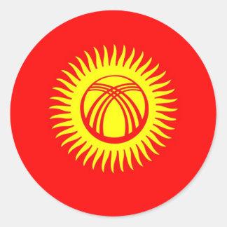 Kyrgyzstan Classic Round Sticker
