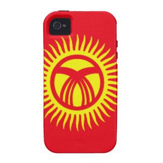 Kyrgyzstan Flag iPhone 4 Case