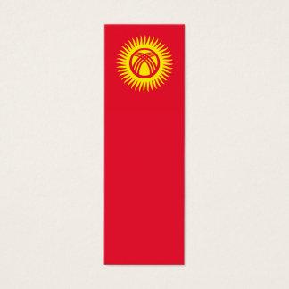Kyrgyzstan – Kyrgyz Flag Mini Business Card