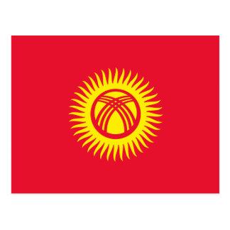Kyrgyzstan – Kyrgyz Flag Postcard