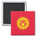 Kyrgyzstan – Kyrgyz Flag Refrigerator Magnets