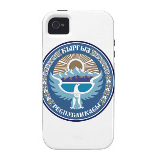 Kyrgyzstan National Emblem iPhone 4/4S Covers
