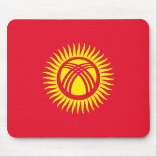 Kyrgyzstan National World Flag Mouse Pad