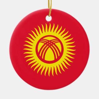 Kyrgyzstan Christmas Ornament
