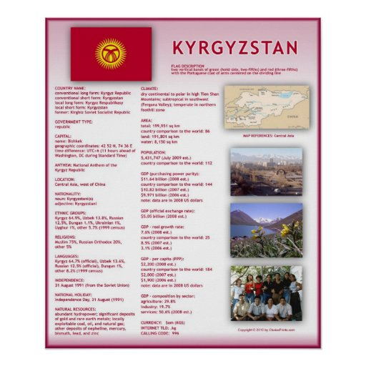 Kyrgyzstan Posters