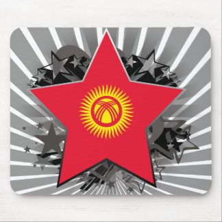 Kyrgyzstan Star Mouse Pad