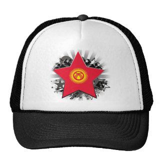 Kyrgyzstan Star Trucker Hat
