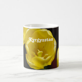 Kyrgyzstan Tulips Classic White Coffee Mug