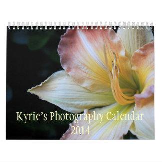 Kyrie's Photography Calendar 2014