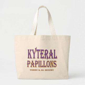 KYTERAL PAPILLONS LARGE TOTE BAG