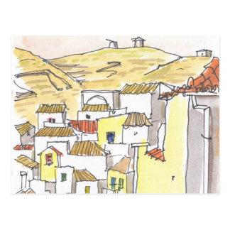 Kythnos Greece Postcard