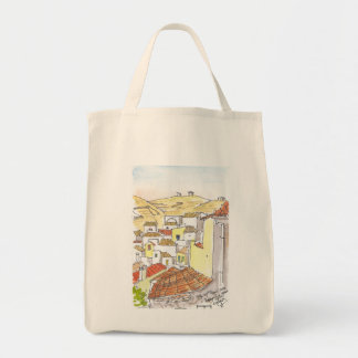 Kythnos Greece Tote Canvas Bags