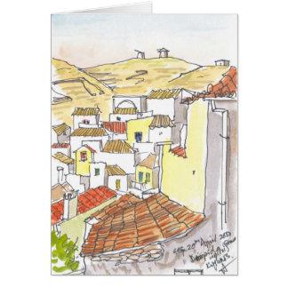 Kythos Greece Notecard Stationery Note Card