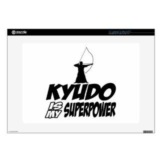 """Kyudo Superpower Designs Decals For 15"""" Laptops"""