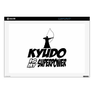Kyudo Superpower Designs Skins For Laptops