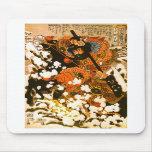 Kyusempo Sakucho & Black Stallion Vintage Japanese Mouse Pad