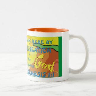 KZ07-Here by Creation© Two-Tone Coffee Mug