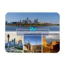 KZ Kazakhstan - Astana - Central downtown - Magnet