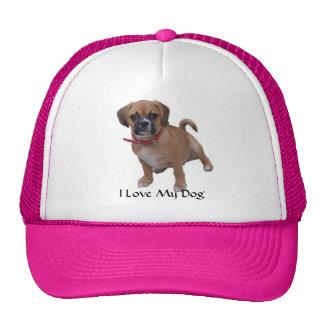 l1 I Love My Dog Hats