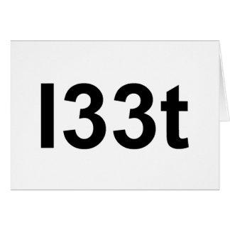 l33t card
