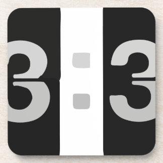 L33T Clock 13:37 Coaster