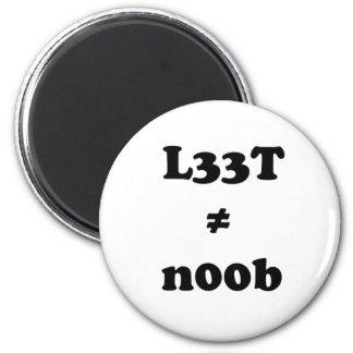 l33t leet n00b noob magnet