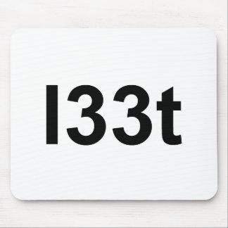 l33t mouse pad