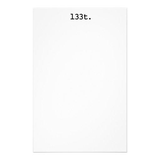l33t. papelería personalizada