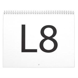 L8 WALL CALENDARS