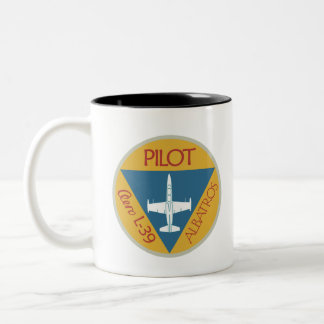 L-39 Pilot Two-Tone Coffee Mug