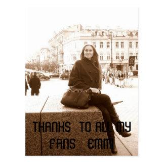 l_39feabc0de634716b0d159bc9ace5d4c, THANKS  TO ... Postcard