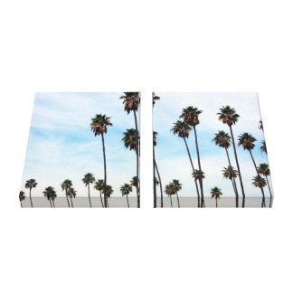 L.A. All Day - Palm Trees - Wrapped Canvas